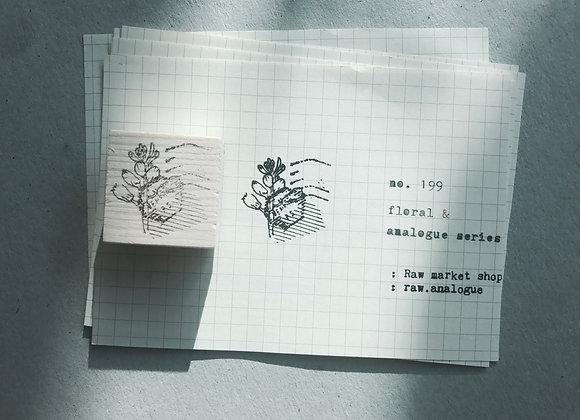 no. 199 : floral series