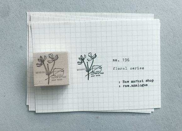 no. 196 : floral series