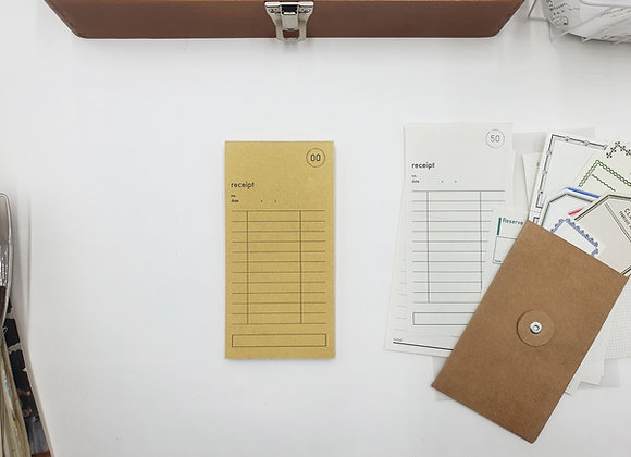 Classiky:  Drop Around Guest Check Pad (Eng)