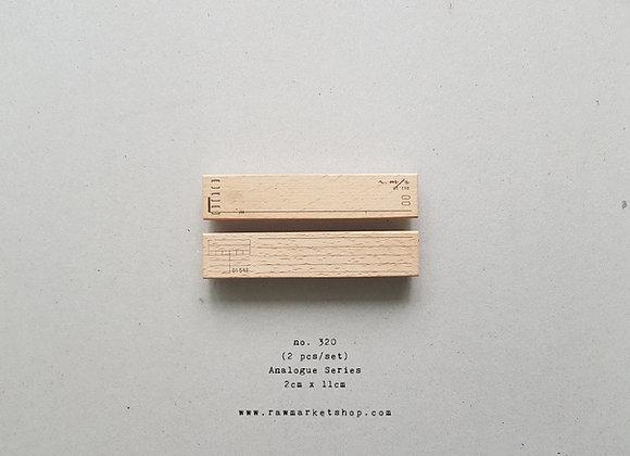 no. 320 (2pcs/set)