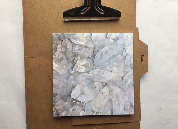 Stone series: Crystal Post it