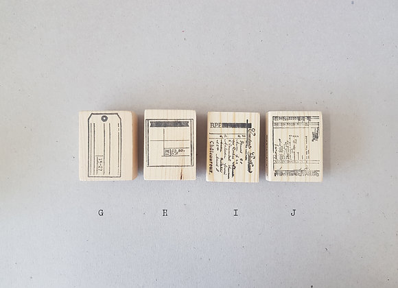 Rubber Stamps by MyPaperProjects