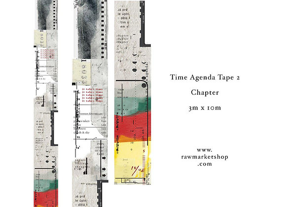 Time Agenda tape (2) -Chapter