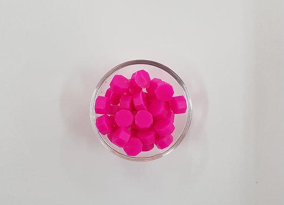 Wax beads : Fluorescent pink
