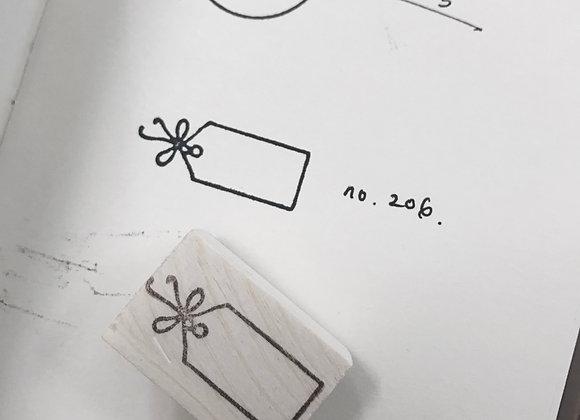 No.206 mini tag