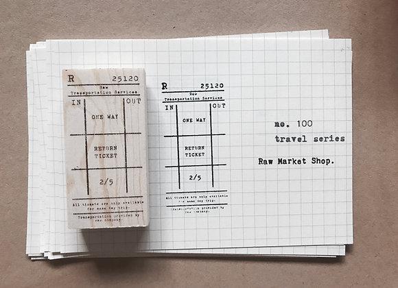 no.100 Travel Series