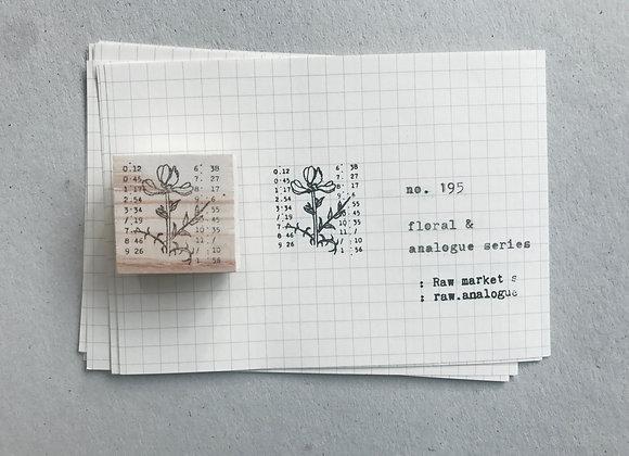 no. 195 : floral series