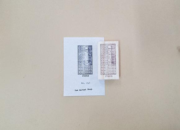 No. 248 : ticket