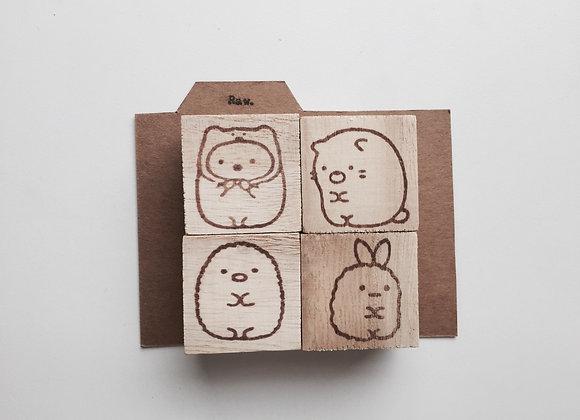 Sumikko Gurashi Stamp set