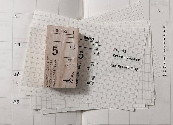 No.83 Travel Series