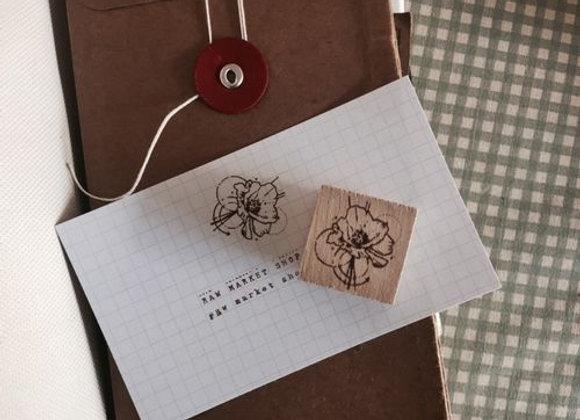 No.10 Floral stamp