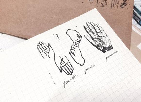 Hand Series stamp