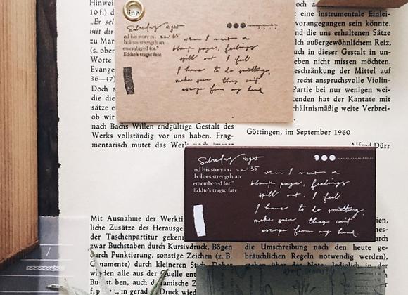 Mr Eggplants Doodle Notes: Envelope stamp