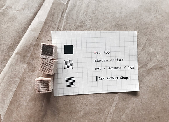 no. 155 | Shapes Series | set.square | 10mm