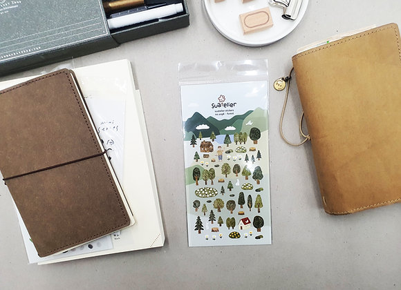 Suatelier Forest stickers