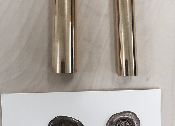 custom full brass seal