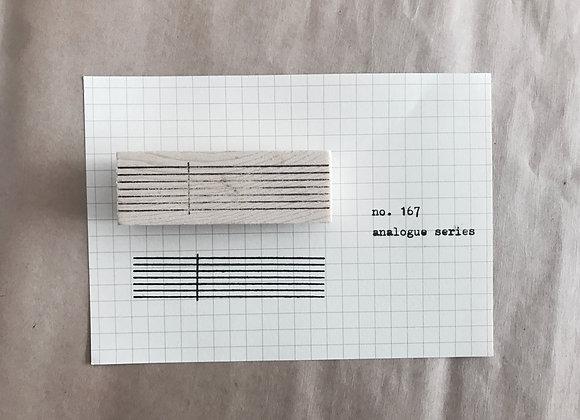 no. 167 analogue series
