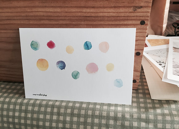 Post Card: Watercolour