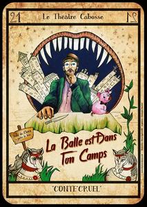 Affiche pour le Théâtre Cabosse
