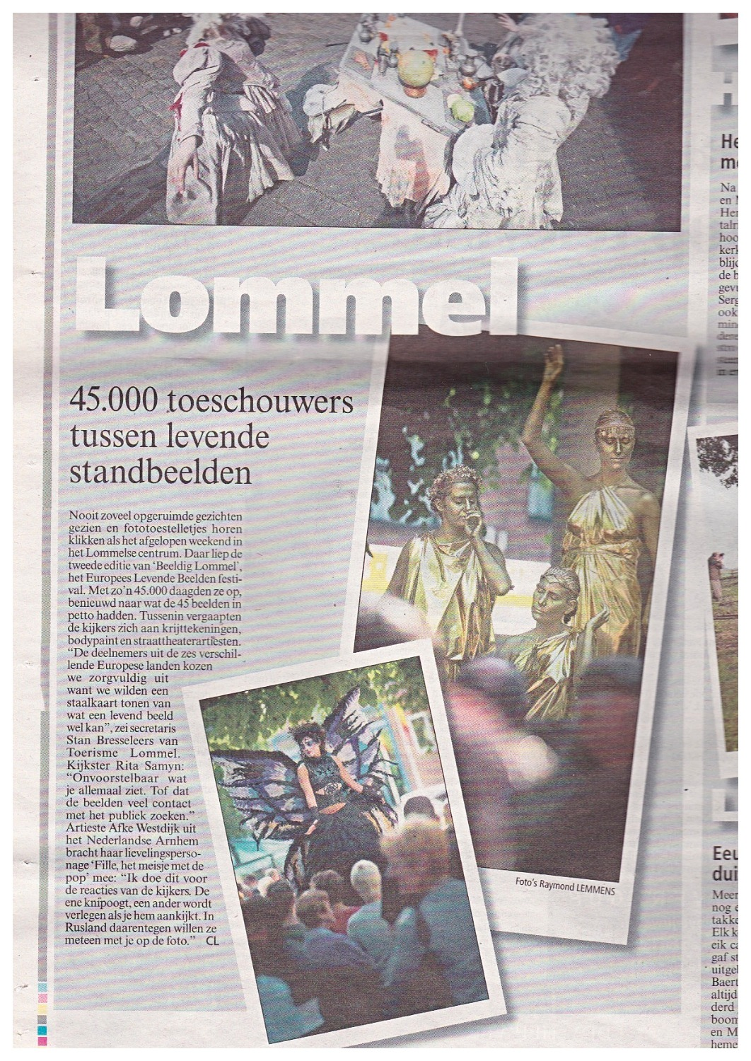 Journal du Festival de Lommel
