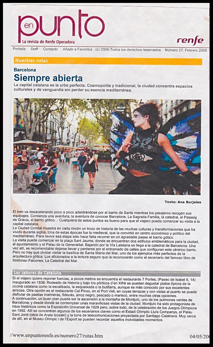 Article RENFE Barcelone