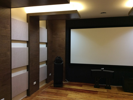 B&W Home Theater Set-up