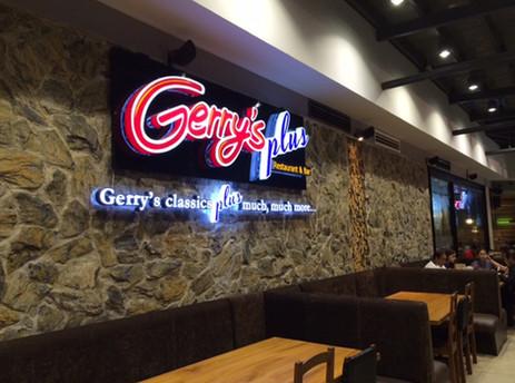 B&W Ceiling Speaker in Gerry's Grill