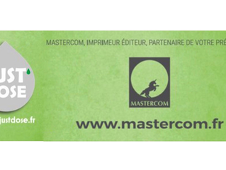 Just'dose et Mastercom deviennent partenaires !