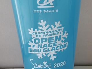 Just'Dose est partenaire des Championnats de France Open de nage en eau glacée !