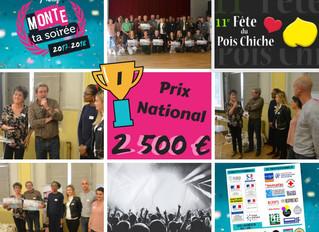 La Fête du Pois Chiche  et Festival de la Paille, vainqueurs du prix éco-responsable Monte ta soirée