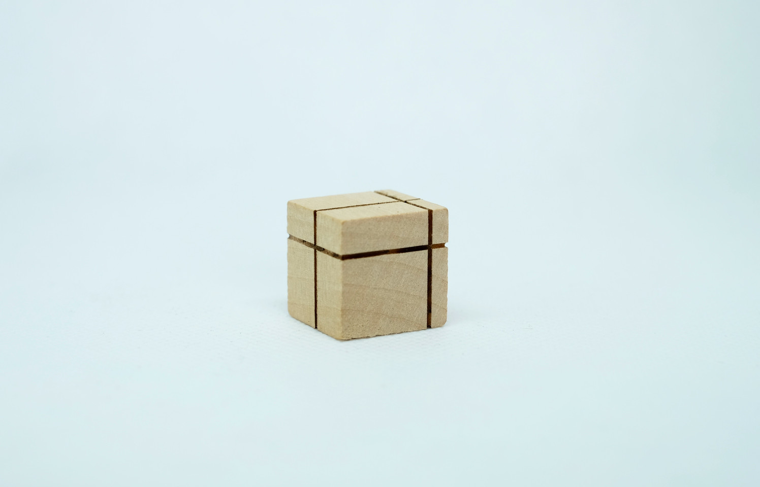 wooden dice single