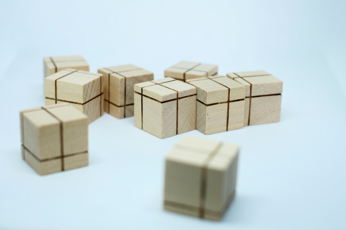 Wooden Dice group
