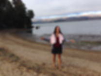 photo of me at the ocean