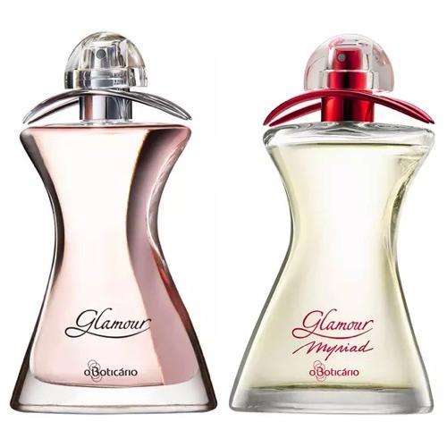 Perfumes Glamuor e Glamour Myriad