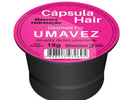 RESENHA: CÁPSULA HAIR (UMA VEZ)