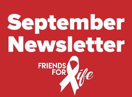 Virtual Newsletter: September 2020