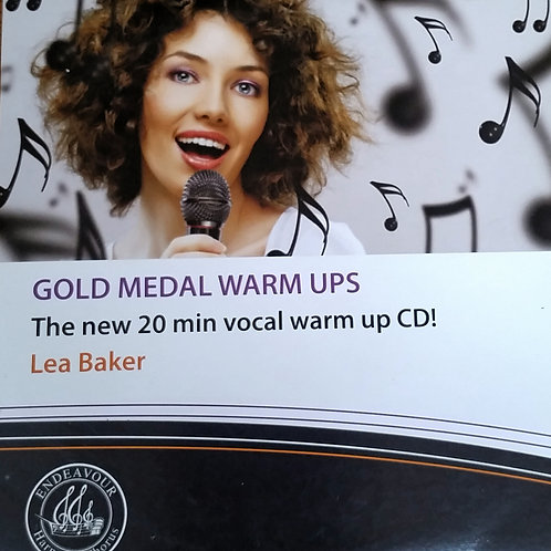Vocal warm up CD