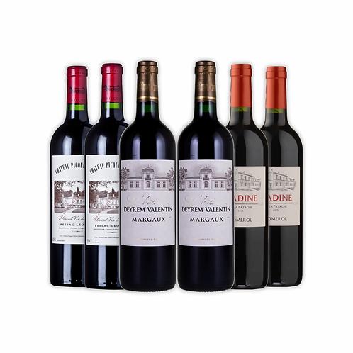 Grandes tintos de Bordeaux