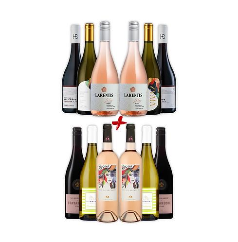 Verão: Kit 12 garrafas