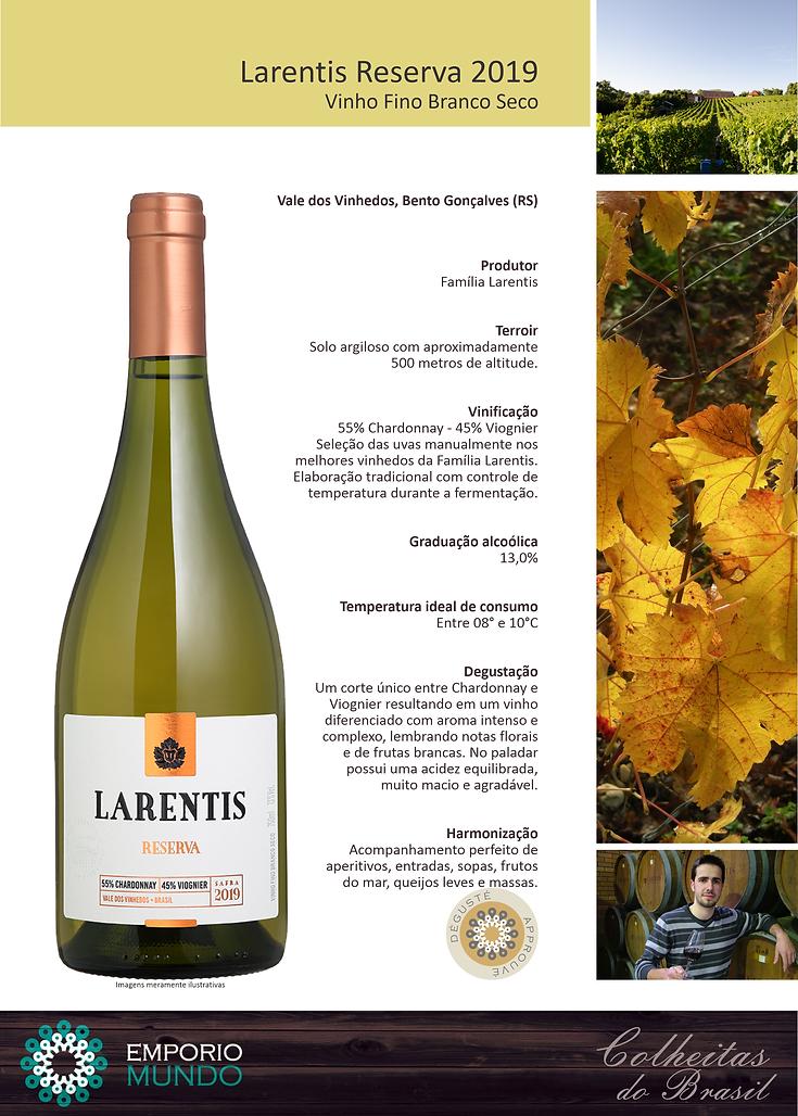Larentis Reserva Chardonnay-Viognier 201