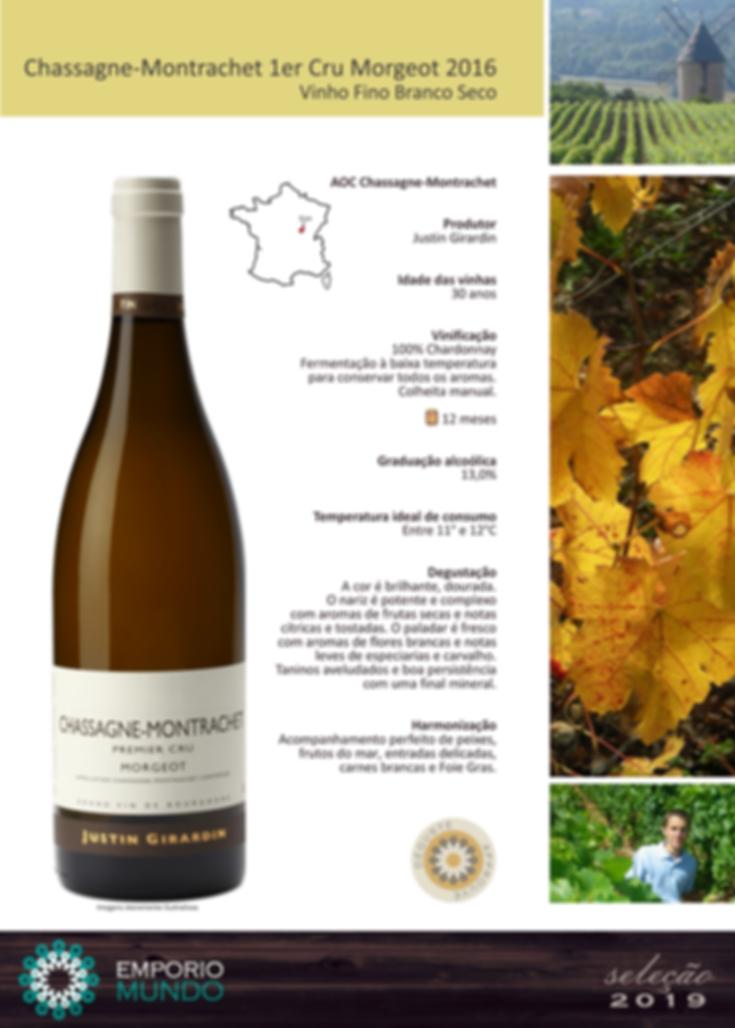 Girardin - Chassagne-Montrachet 1er Cru