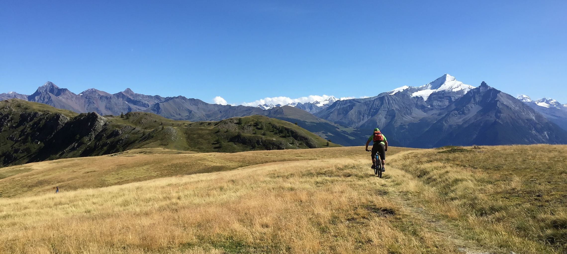 Aosta valley mountain biking