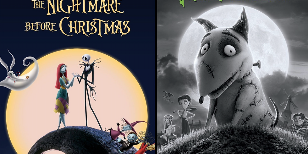 Double Feature! The Nightmare Before Christmas & Frankenweenie