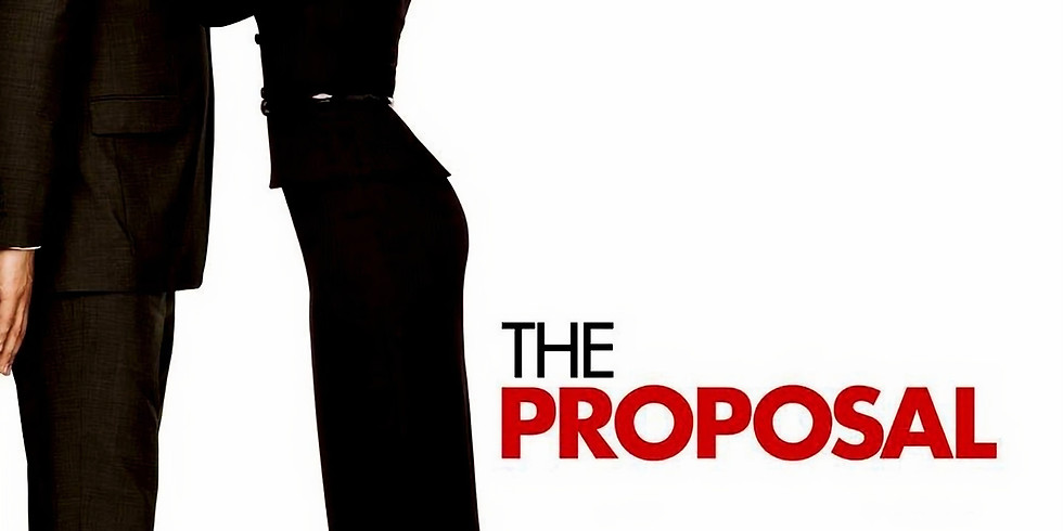 Valentine Dinner & A Movie The Proposal