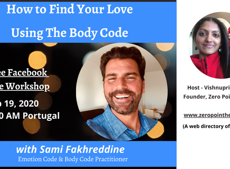 How to Find Your Love Using the Body Code with Sami Fakhreddine