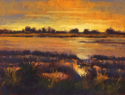 Sunset on Jekyll Island