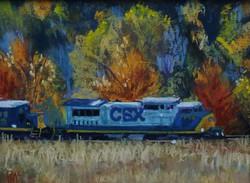 CSX Railroad 6x8
