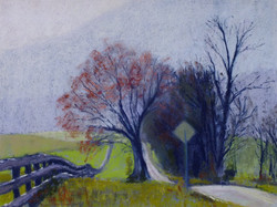 Country Road - Early Spring
