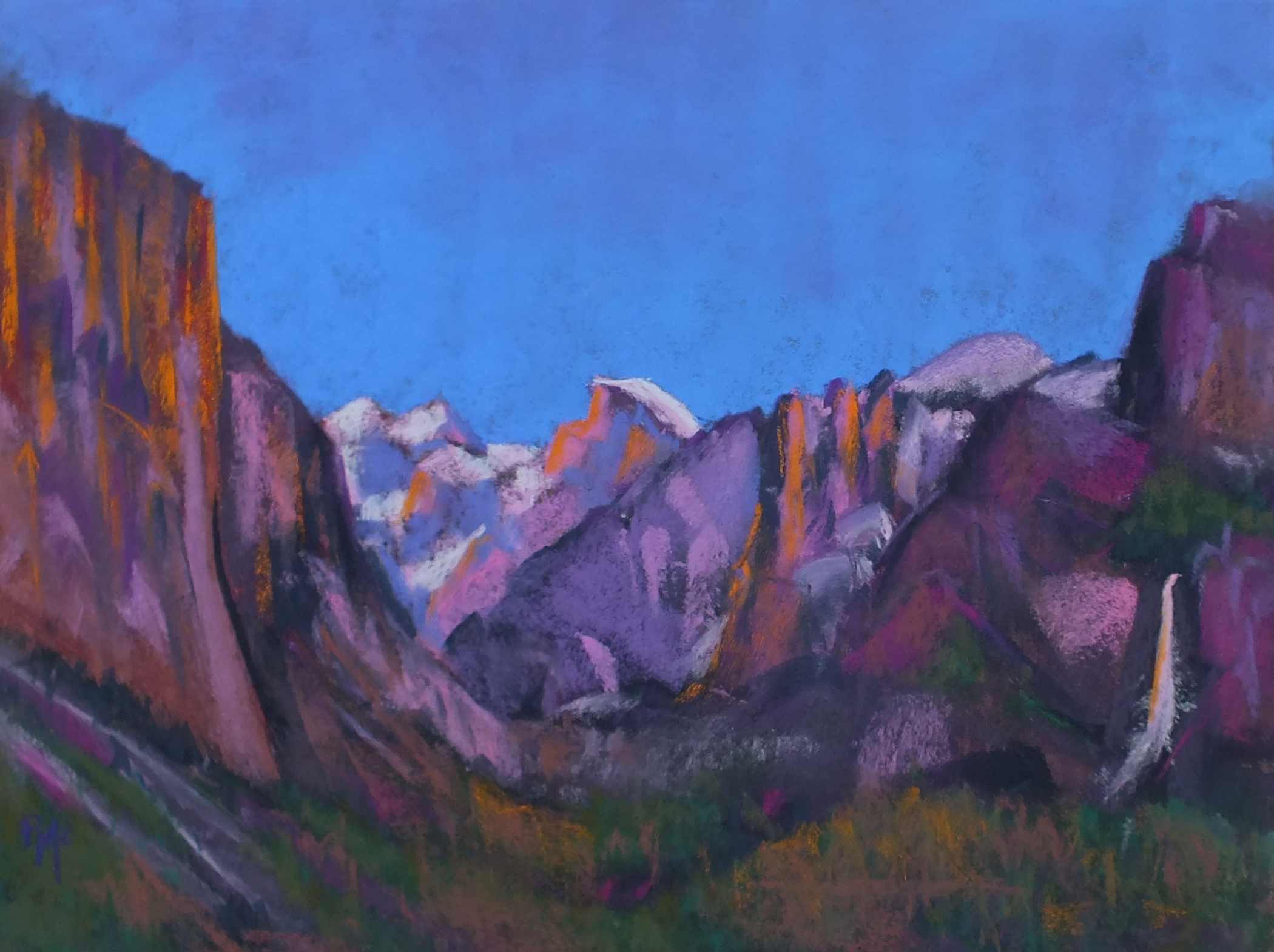 Evening Light in Yosemite