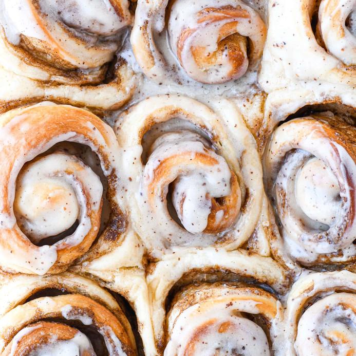 Online Baking Classes - Cinnamon Rolls